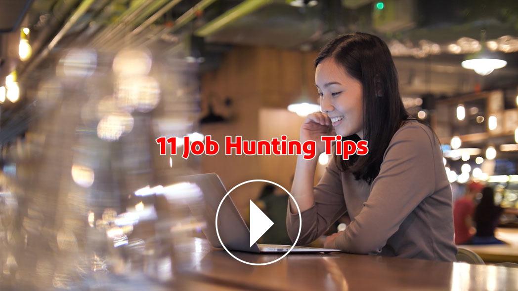 11 Job Searching Tips