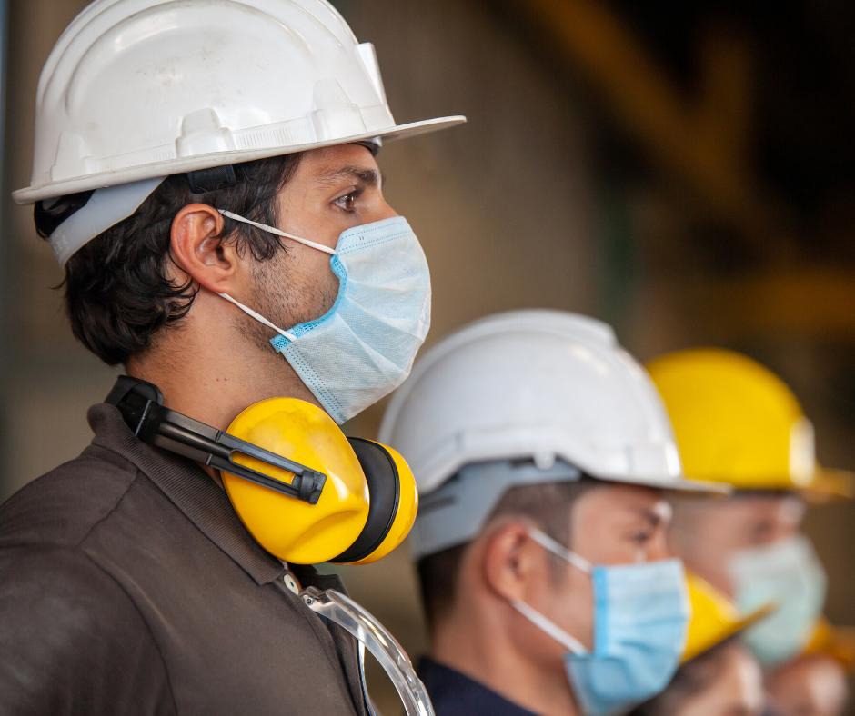 Men in PPE