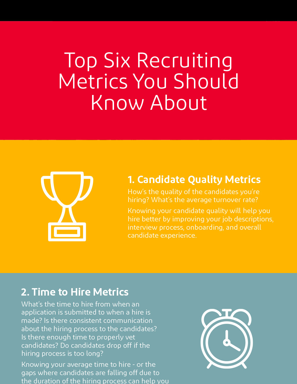 Top Six Recruiting Metrics You Should Know About