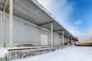 Warehouse in the Winter