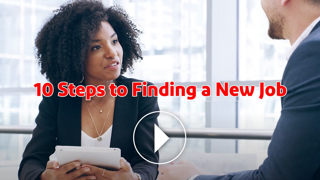 10 Steps to Finding a New Job